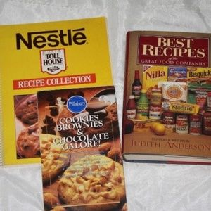 Best Baking Nestle Pillsbury cookbooks